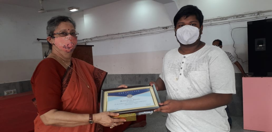 Felicitation Of ISC Toppers Of Our school  Held on 25.08.2021